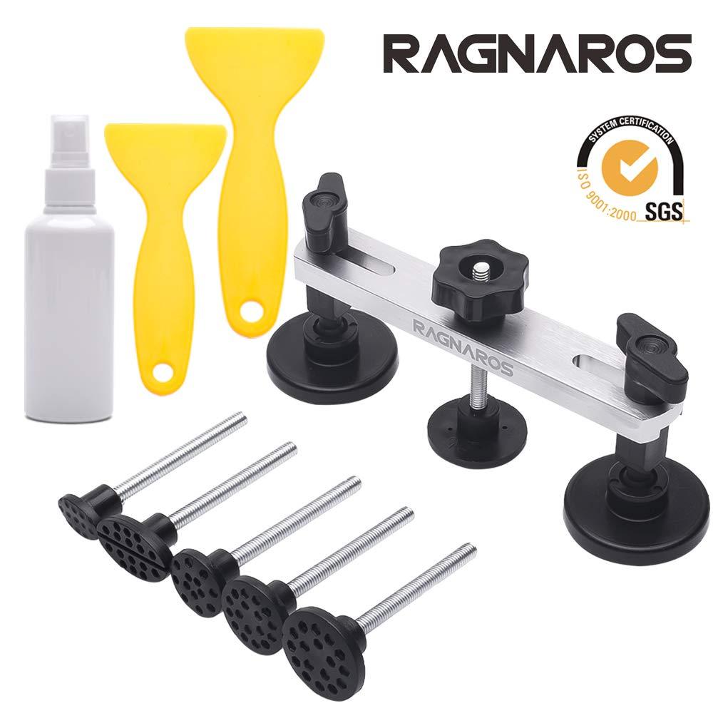 Dent Removal Kit, Car Dent Suction Puller, Aluminum Alloy High Quality Easy Bump Dent Remover, Bonus 2 Shovels & 1 Alcohol Bottle xiuyi tech LTD