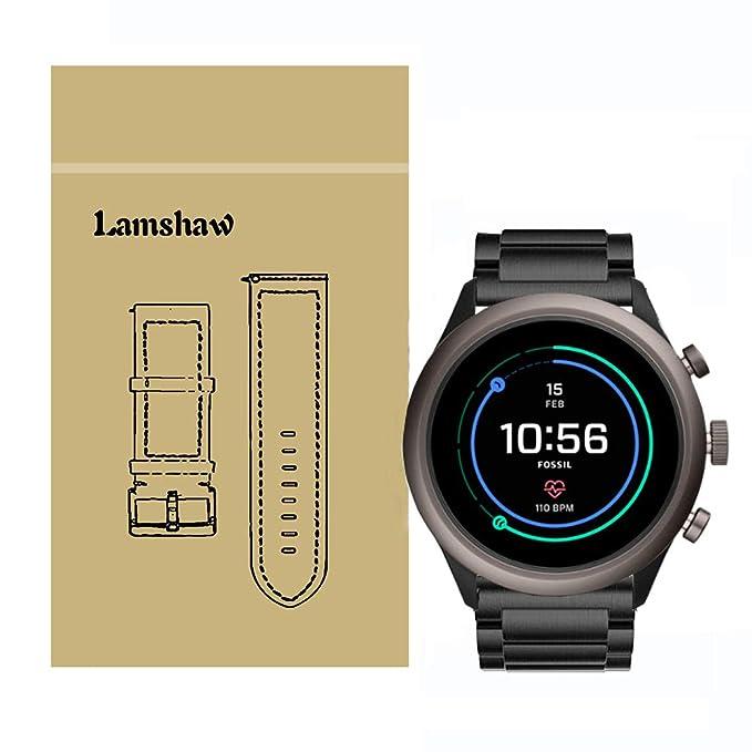 Lamshaw - Correas de Repuesto para Fossil Sport Smartwatch ...