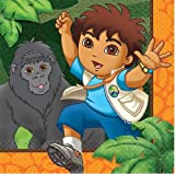 Go Diego Go! Biggest Rescue Small Napkins (16ct)