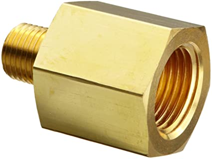 Parker 2 1 Ra B Brass Pipe Fitting Reducing Adapter 18 Npt