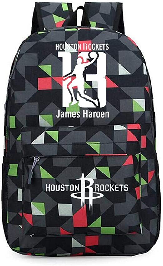 Backpack Mochila Escolar Baloncesto NBA Houston Rockets Mochila ...