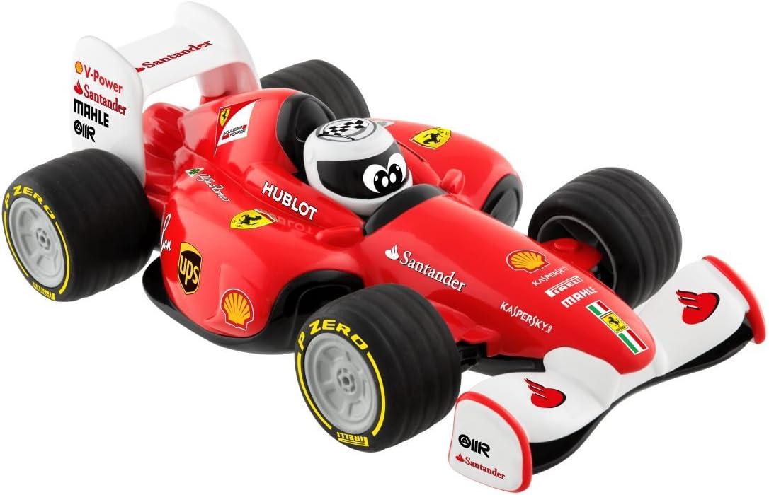Chicco - Coche teledirigido infantil, Ferrari F1 Radiocontrol, con mando