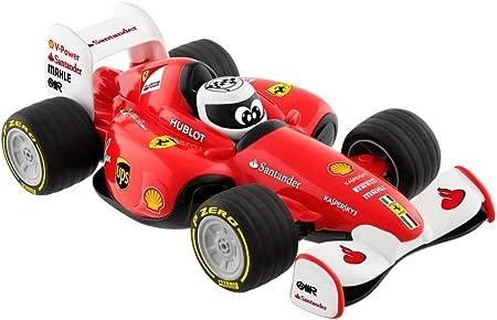 Coche radiocontrol bajo licencia Ferrari,Coche oficial Ferrari de Sebastian Vettel,Control remoto co
