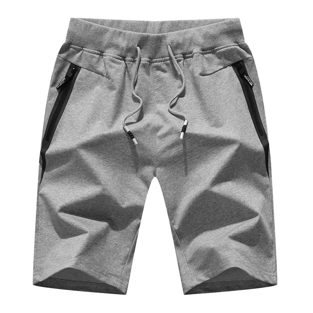 Feidaeu MäNner Jogginghose Shorts Bequem Atmungsaktiv Waschbar Ohne Verblassen Fitness Laufen Freizeithosen