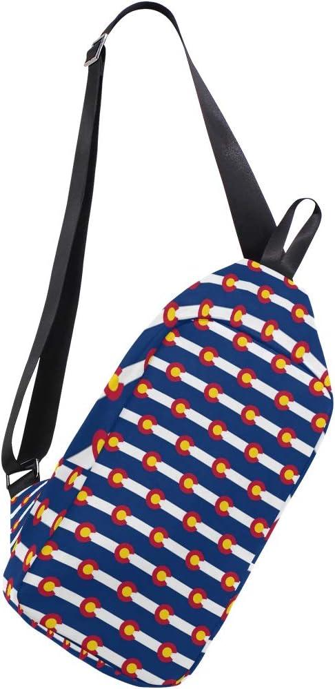 Colorado Flag Shoulder Bag Colorado Sling Totes