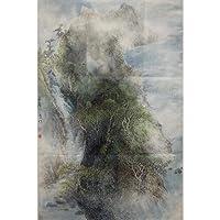 Puro dipinta a Mano - - tre metri di Dou Fang - Paesaggio dipinto e dipinto piacevole soggiorno
