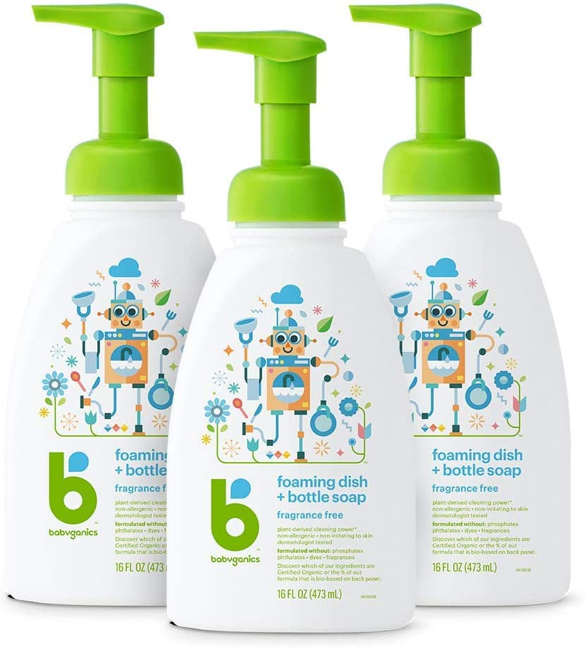 Babyganics Foaming Dish and Bottle Soap