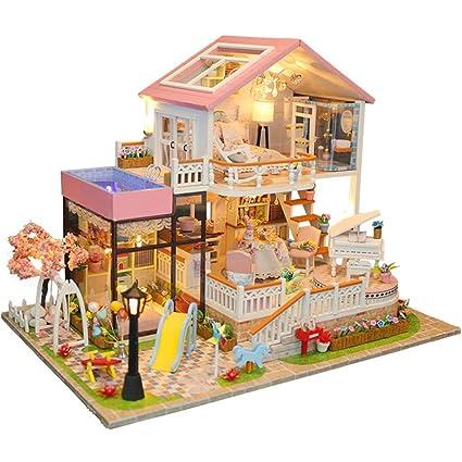 Mobilier de poupées Blocs de construction pour enfants ...