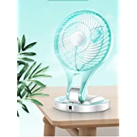 MICMAC HT-5580 New Model Powerful Rechargeable Table Fan With 21Smd Led Lights (Random Color)