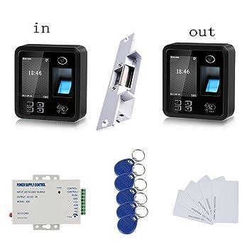¡Gran calidad! RFID y huella digital de dos vías de seguimiento de los sistemas