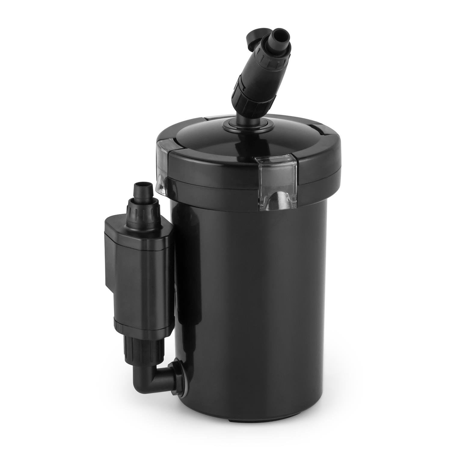 6UVL Waldbeck Clearflow 6 UVL Aquarium External Filter • 6W • 4-Stage Filter • 400 l   h • Quiet • Economical • Easy Cleaning with Quick Coupling System • Individually Removable Filter Baskets • Black
