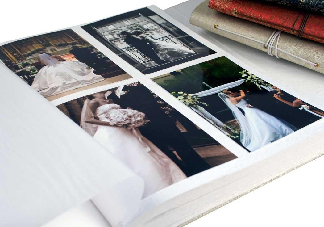 Life Arts Handmade Sari Silk Photo Album, Large Black by Life Arts (Image #3)