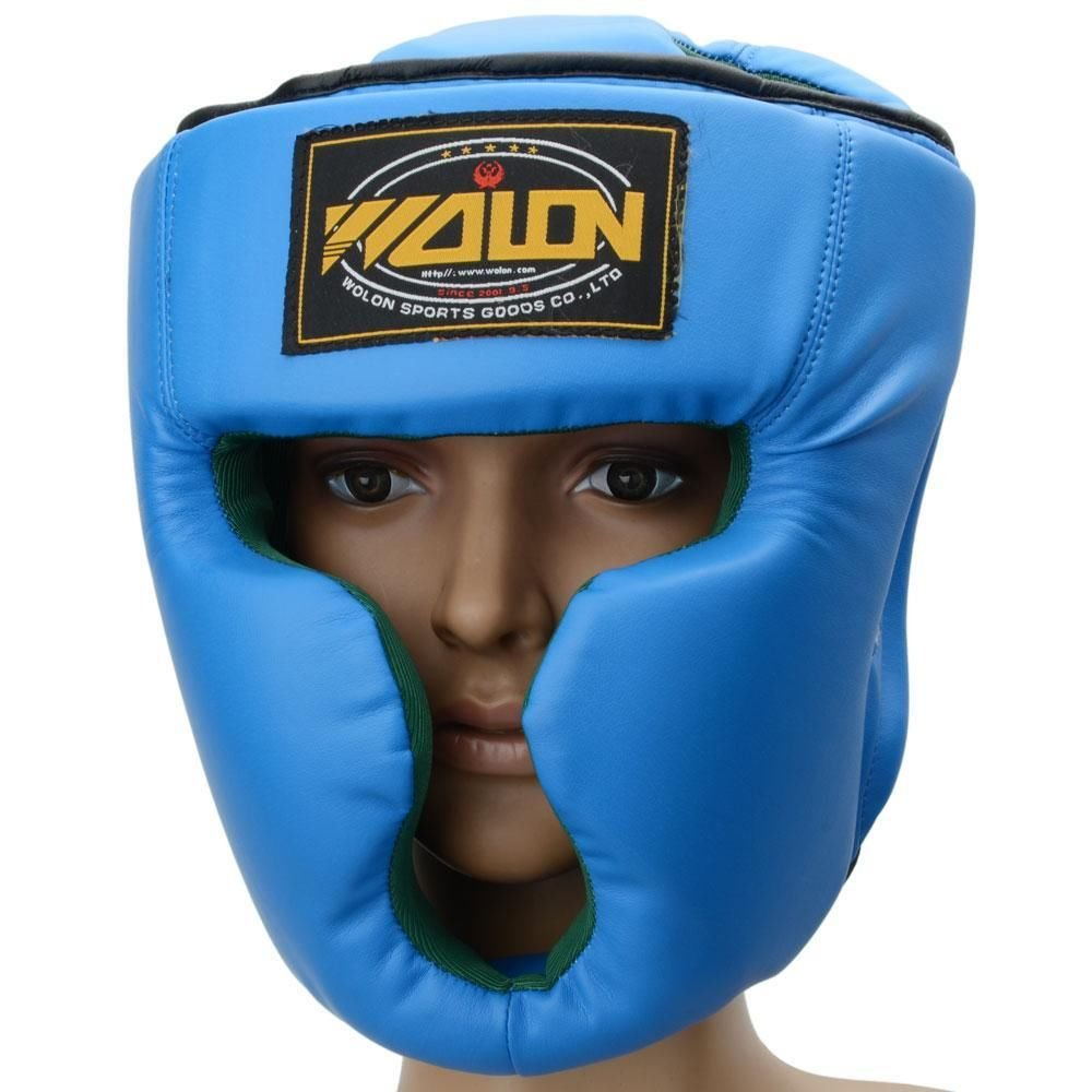 ボクシングトレーニングヘッドギアヘッドガードKick Sparring Sparring B00ODW1YKQ Gear面保護ブルー B00ODW1YKQ, クロカワムラ:5b4802ad --- capela.dominiotemporario.com