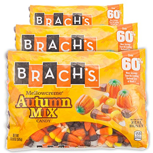 - Brachs Halloween Autumn Mix Candy | 3 Pack 17.8 Oz | Made With Real Honey (Autumn Mix)