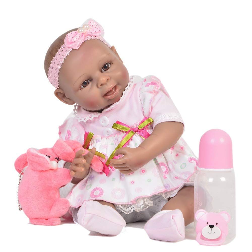 mejor calidad RENYAYA 17 Pulgadas de niños pequeños realistas bebés recién recién recién Nacidos Silicona Vinilo bebé recién Nacido muñeca Toque de niños Playmate Navidad Regalo de cumpleaños  compras online de deportes