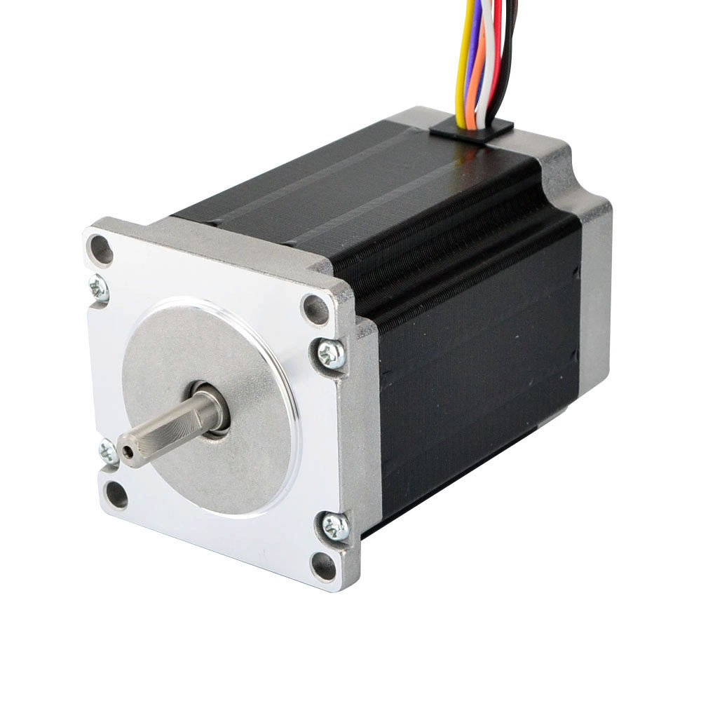 STEPPERONLINE Dual Shaft Nema 23 Stepper Motor 1.8deg 2.83Nm 4A 8-lead for CNC Machine/CNC Router Kits 23HS33-4008D