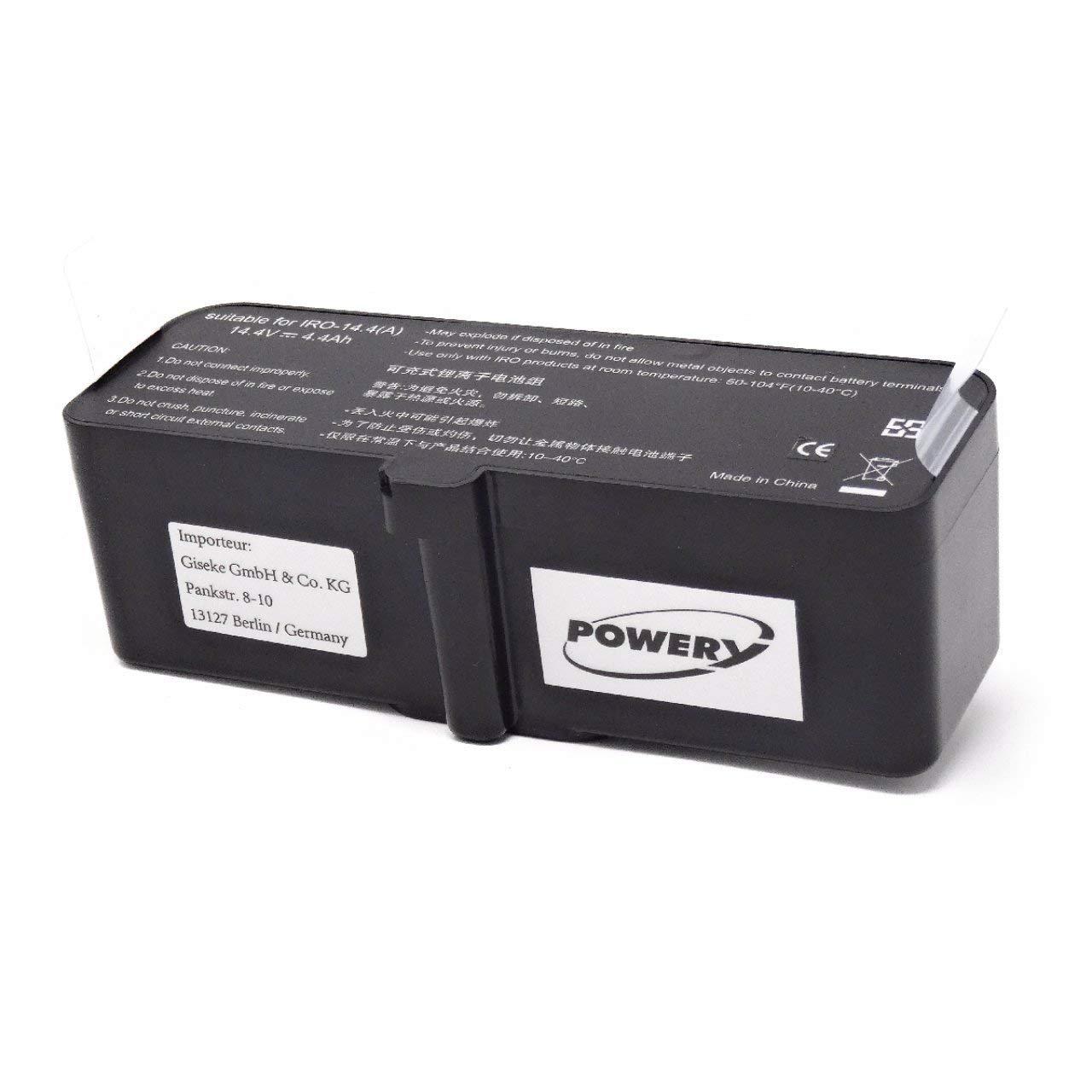 Premium - Batería para Robot Aspirador iRobot Roomba 980, 14,4 V ...