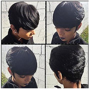 27 Pieces 1 Free Closure 100 Human Hair Brazilian Virgin Hair Short Extension Weave 3 Pcs Tissage