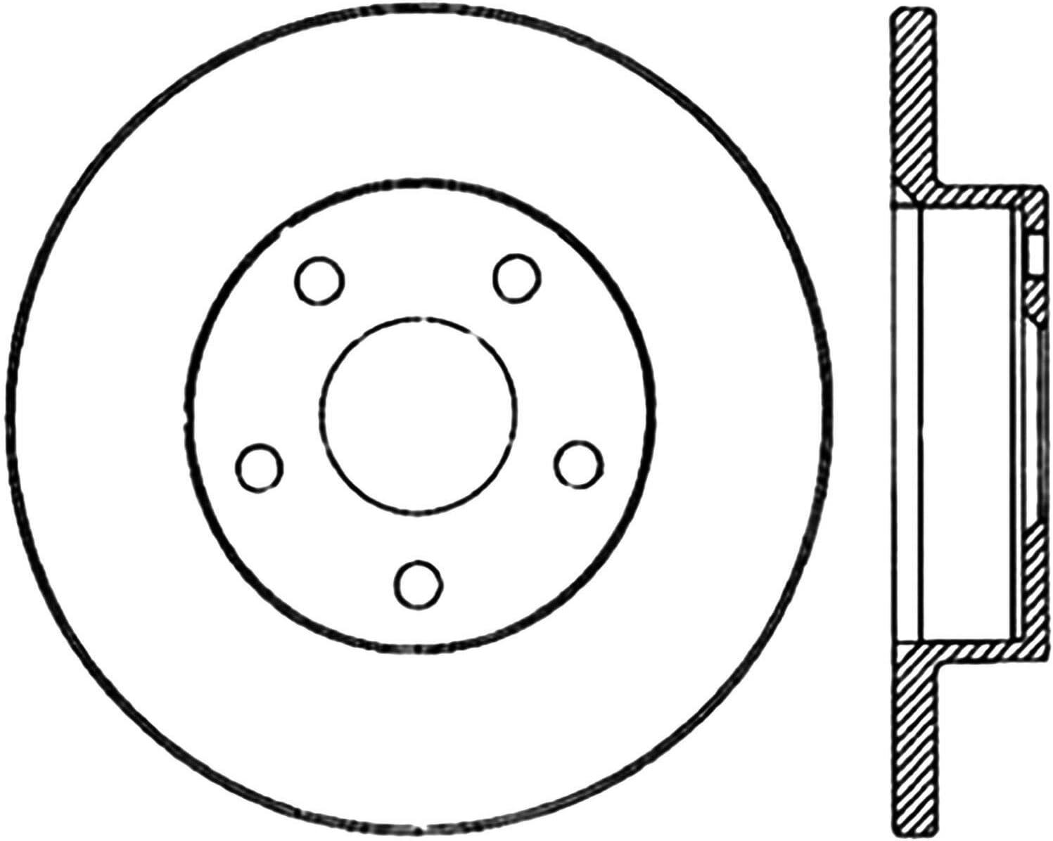 Centric Parts 123.62009 Brake Drum