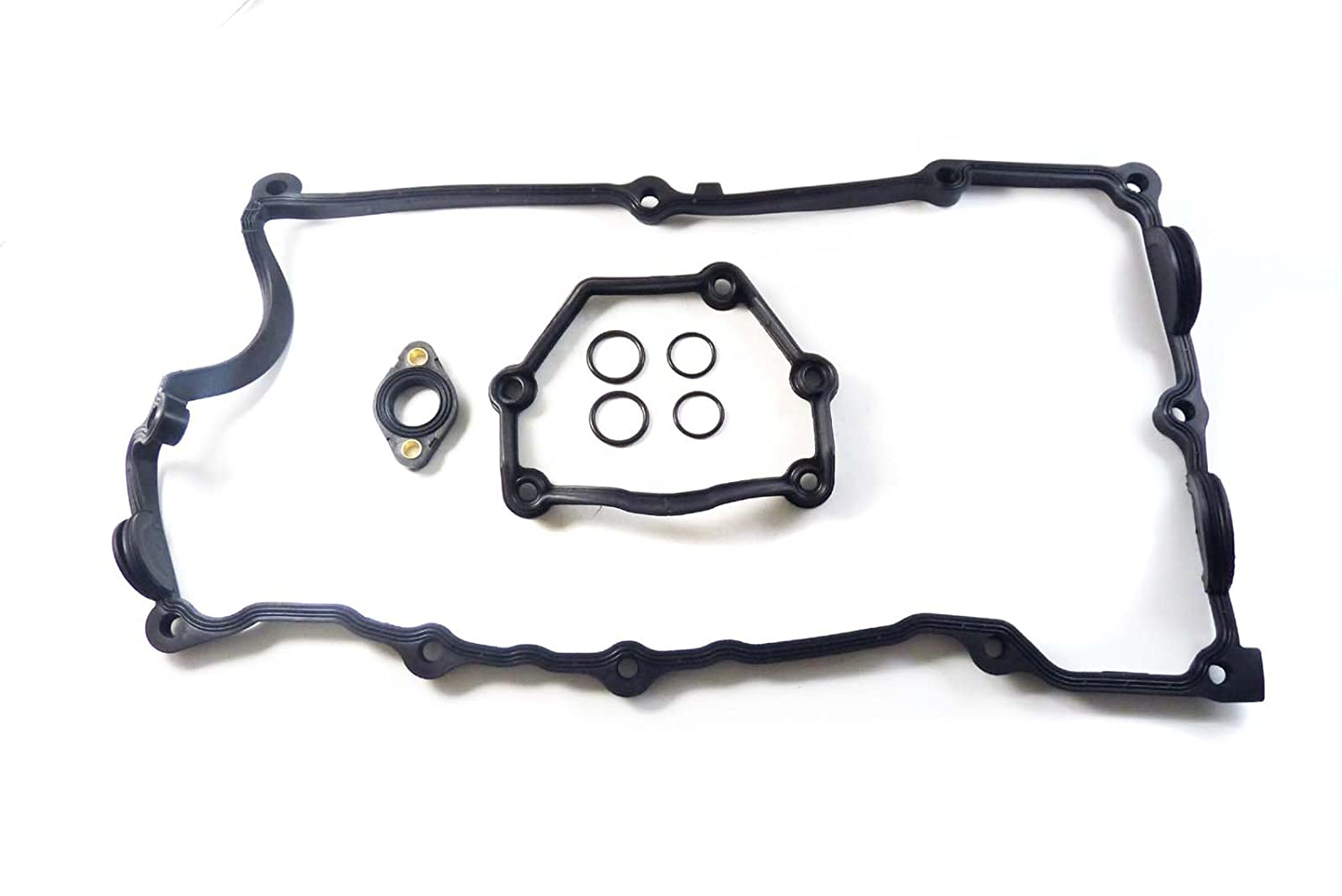 Set Engine Valve Cover Flange Gasket O-Ring 11120032224 NEW FOR BMW 428i xDrive 328i xDrive 528i xDrive 535i X1 X 3 2011 2012 2013 2014 Rejog4 Auto