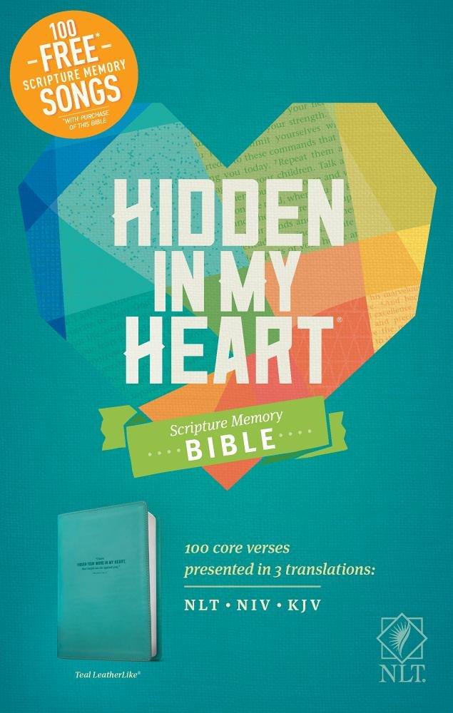 Hidden in My Heart Scripture Memory Bible NLT pdf epub