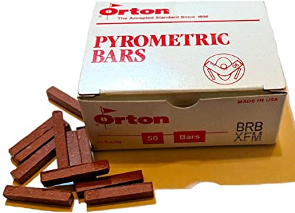 ORTON BRB PYROMETRIC BAR CONES FOR CERAMIC KILNS Box of 50 Cone 015