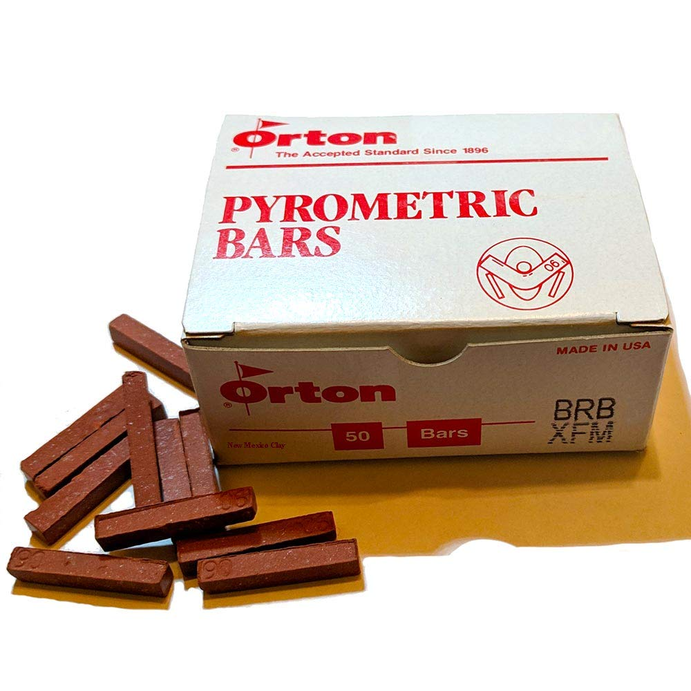 Orton small pyrometric bars for the kiln sitter cone 6 (50)b by Ed Orton