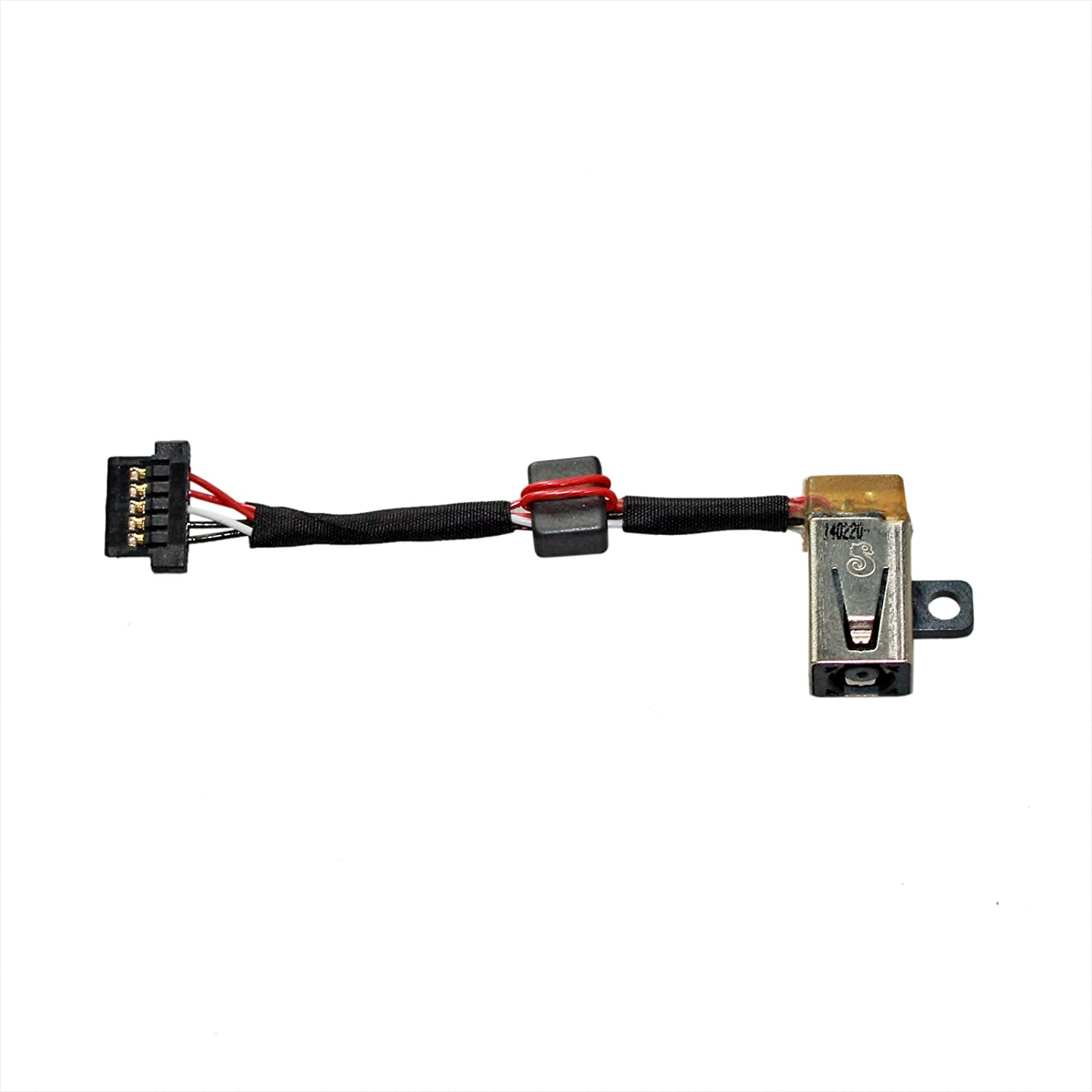 Zahara DC in Power Jack with Cable Harness Connector Replacement for Dell XPS 13 9343 P/N: 0P7G3 CN-00P7G3