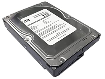 "WL 3TB 7200RPM 64MB Cache SATA 6.0Gb/s 3.5"" Desktop Hard Drive (For Server, RAID, NAS, DVR, Desktop PC) w/ SATA Hard Drives at amazon"