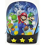 Super Mario Bros 3D Holographic Backpack with Flashing LED Stars