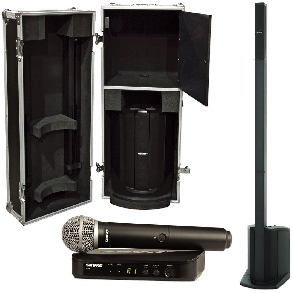 Bose L1 Compact w/ Case & Shure BLX PG58 Wireless