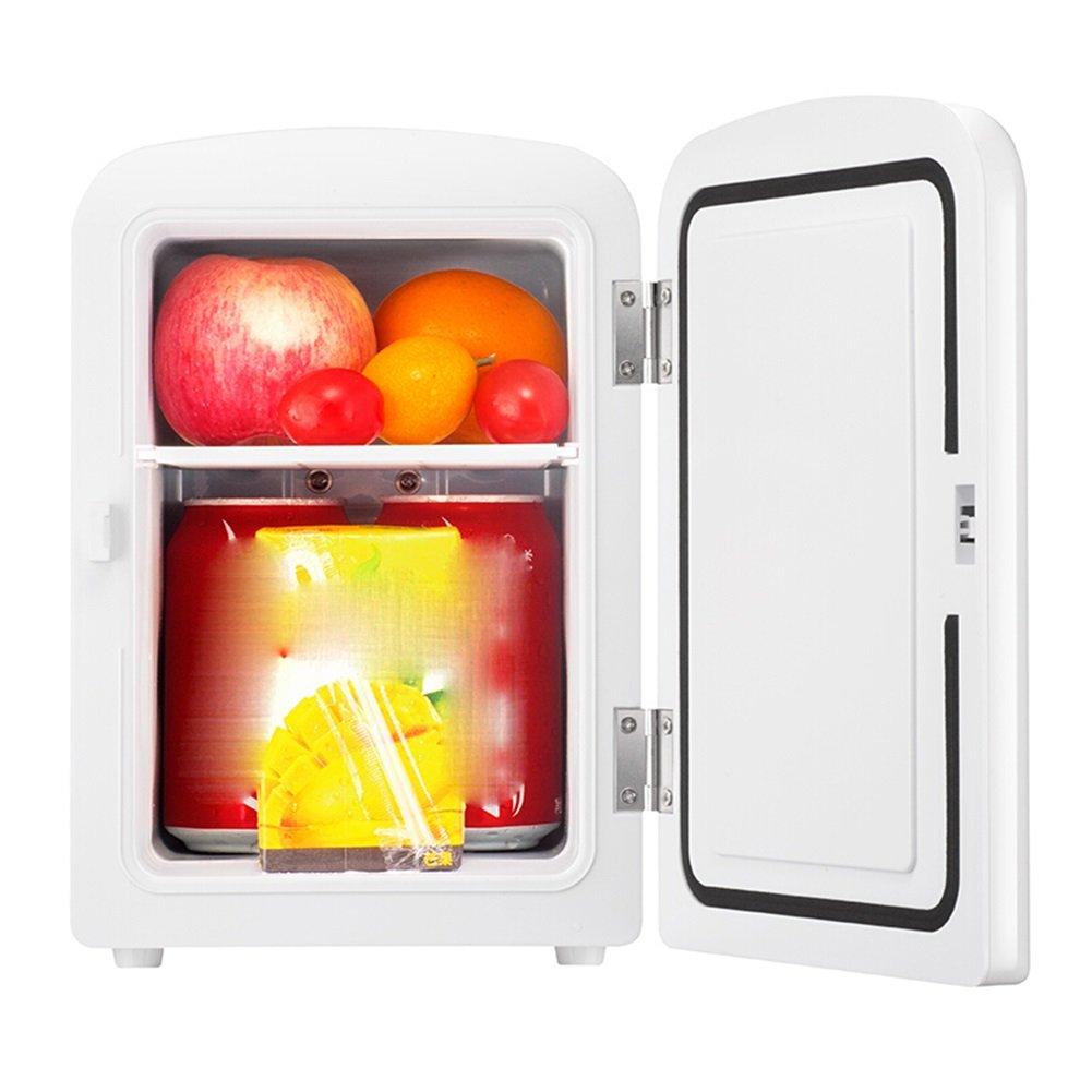 LIQICAI 4 Litre Mini Kühlschrank Zuhause Auto Doppelt Verwenden 2 Netzteiltyp Kalt Heiß Doppelt Verwenden 12V 230V