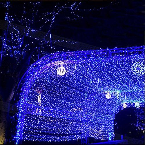 Hengda LED Eisregen Lichternetz Lichterkette Wasserdicht für Wedding 8 Funktiontyp Memory 300 leds 30m 220v Weihnachtslichterkette