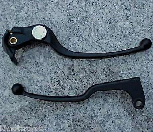 (i5 New Black Front Brake & Clutch Levers for Suzuki GSXR 600 750 1000 GSXR600 2006-2018, GSXR750 2006-2018, GSXR1000 2005-2006 & 2009-2018.)