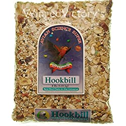 Volkman Avian Science Super Hookbill Mix - 4lb (1.81kg) PACK of 2 Bags