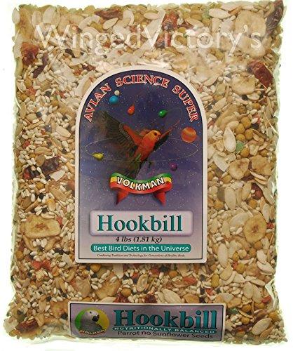 Volkman Avian Science Super Hookbill Mix – 4lb 1.81kg PACK of 2 Bags