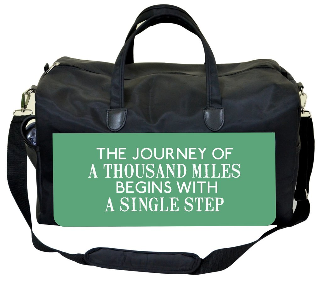 Inspirational Quote-Green Jacks Outlet Therapist Bag