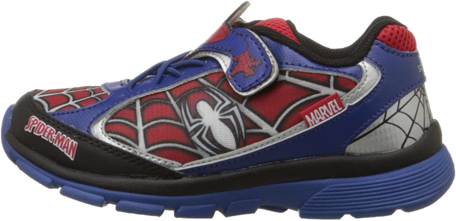 Toddler//Little Kid Stride Rite Ultimate Spider-Man Light-Up Sneaker