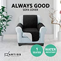 Artiss Sofa Cover Quilted Couch Covers Lounge Protector Slipcovers 1/2/3 Seater