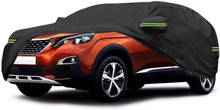 Coperture auto Copertura auto Copertura impermeabile Toyota C-HR con strisce fluorescenti Protezione UV completa antivento e antivento per la copertura protettiva esterna per Toyota copriauto per auto