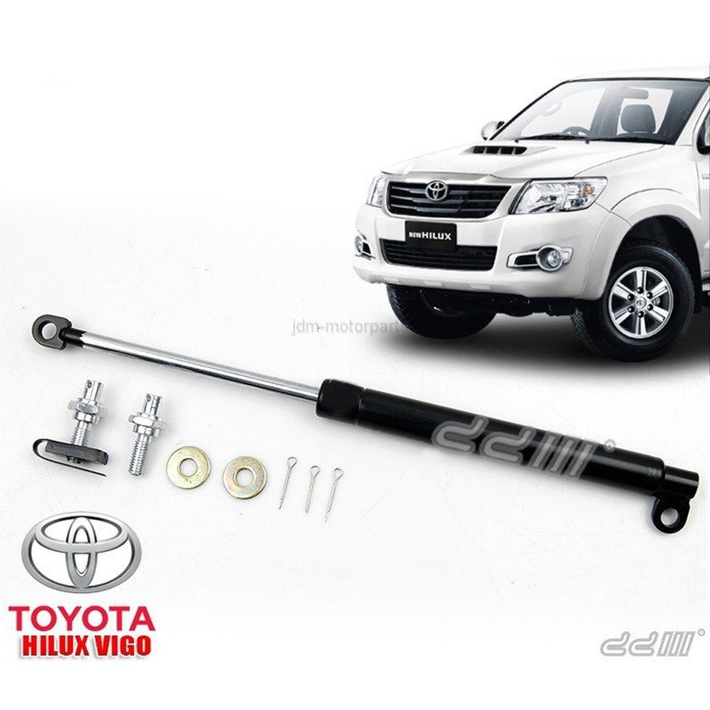 Amazon.com: Hilux 2005++ MK5 MK6 SR5 Rear Trunk Tailgate Shock Slow Down  Protect Damper Kits Tail Gate Lift Up Support Strut: Automotive