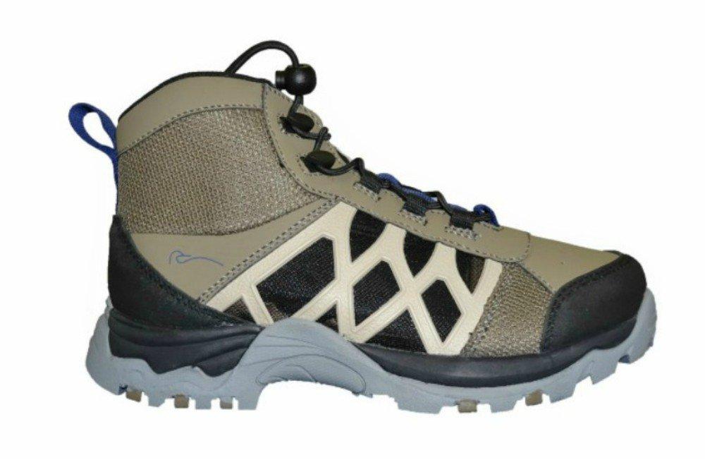ChotaアウトドアギアWading Boots、ハイブリッドハイトップ、スーパーライト、下1 lb。Rubber Soled For Traction、耐久性 Size 12  B01N96IUYV