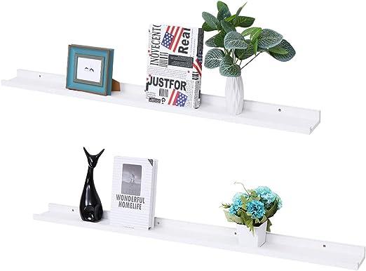Picture Ledge Floating Frame Shelves