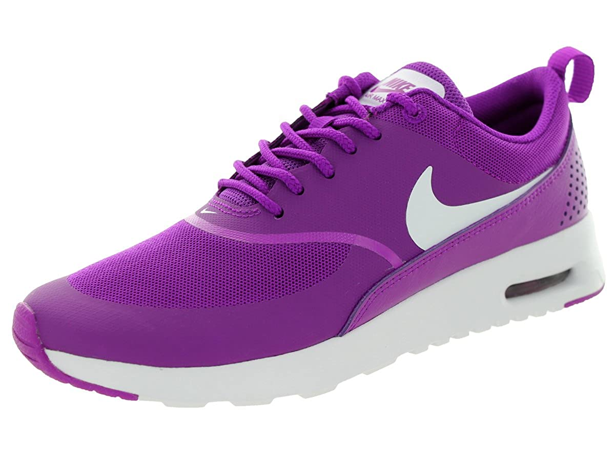 Purple Nike Women's Air Max Thea Low-Top Sneakers, Black