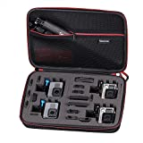Smatree Carrying Case for GoPro Hero 6/5/4/3+/3/2/1,for GOPRO HERO (2018)(Camera and Accessories are NOT included)-Large