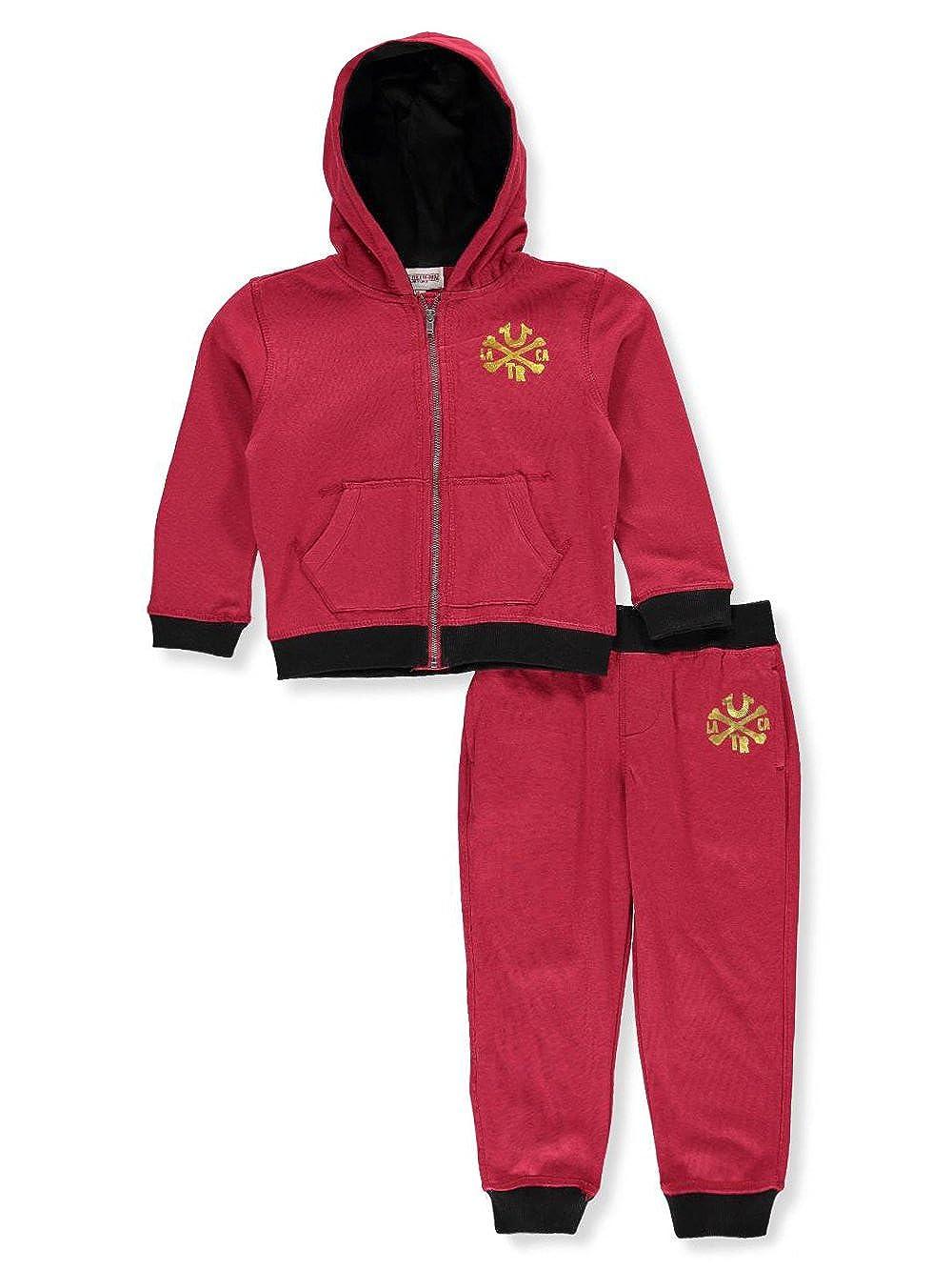 9f8a401d16 True Religion Boys' 2-Piece Sweatsuit Pants Set