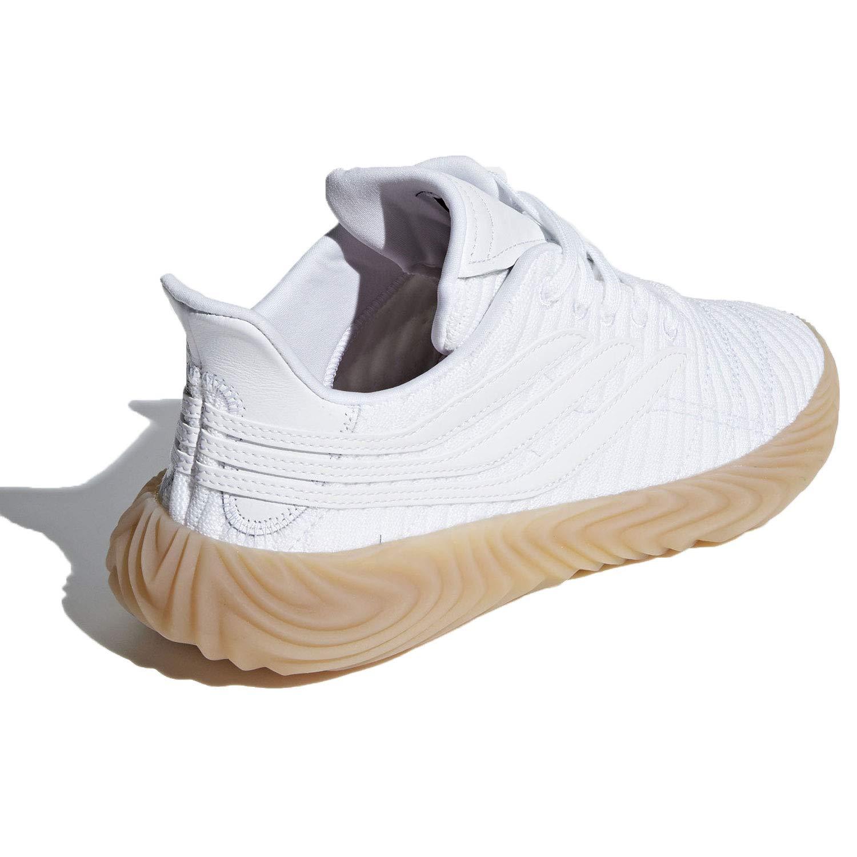 buy popular 92661 0210b Amazon.com   adidas Men s Sobakov Cloud White Gum BB7666   Shoes
