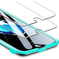 ESR iPhone 8 Plus/7 Plus/6s Plus/6 Plus, [2 sztuki] [Bezpłatna rama montażowa] [przyjazna dla etui], szkło hartowane…