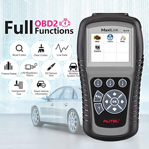 Autel ML619 Toyota scan tool have a lot of functions  you are looking for