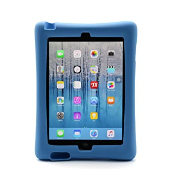CHINFAI iPad Case, Multi-function Shockproof Super Protective Stand Cover Silicone Case for Apple